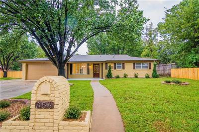 Hurst Single Family Home Active Option Contract: 856 Dianna Avenue