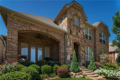 Lewisville Single Family Home For Sale: 412 Grail Castle Drive