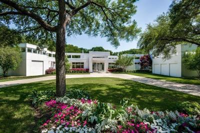 Dallas Single Family Home For Sale: 4130 Cochran Chapel Road