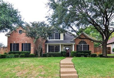 Rowlett Single Family Home Active Contingent: 1901 Hillside Drive