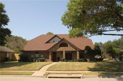 Garland Single Family Home Active Option Contract: 2329 Idlewood Drive