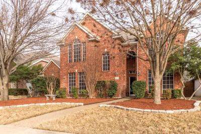 Allen Single Family Home Active Option Contract: 525 Cameron Lane