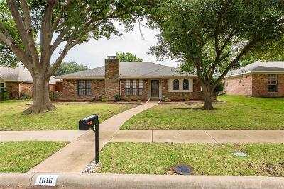 Woodhaven Single Family Home For Sale: 1616 Belgrade Drive