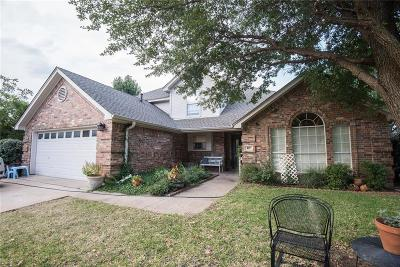 Keller Single Family Home Active Option Contract: 217 Redwood Court