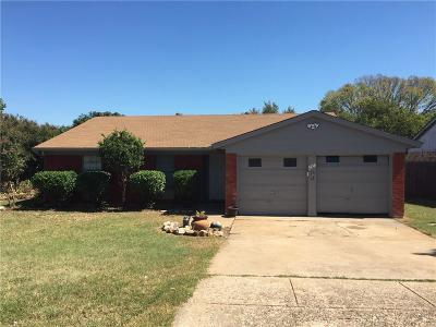Crowley Single Family Home For Sale: 504 Trail Lake Drive