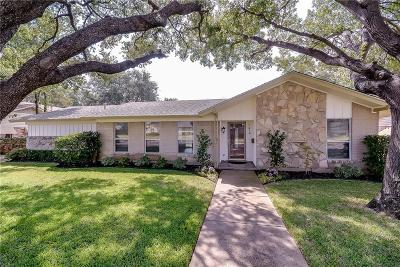 Farmers Branch Single Family Home For Sale: 3416 Pebble Beach Drive