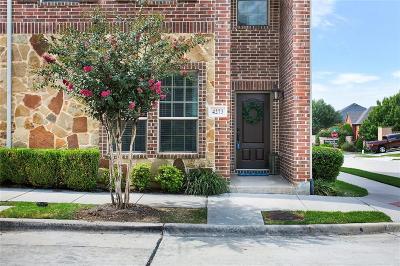 Carrollton Townhouse For Sale: 4273 Riverview Drive