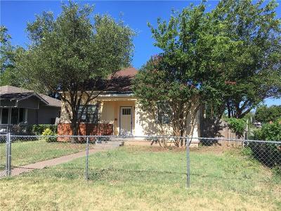 Abilene Single Family Home For Sale: 1674 Orange Street