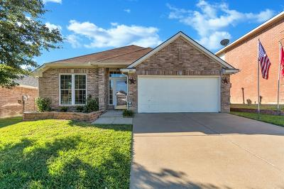 Saginaw Single Family Home Active Option Contract: 809 Silverbrook Drive
