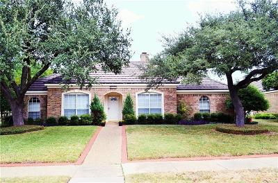 Richardson Single Family Home Active Option Contract: 1009 E Berkeley