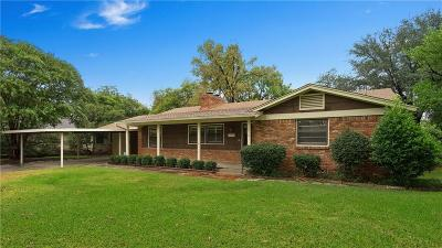 Richland Hills Single Family Home Active Option Contract: 3512 London Lane