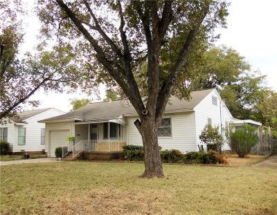 Dallas TX Single Family Home For Sale: $249,900