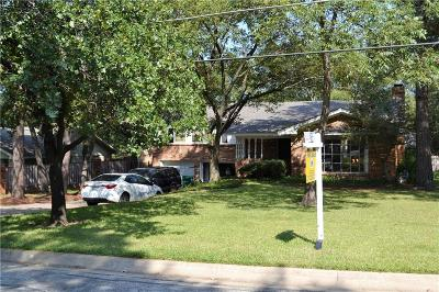 Denton Single Family Home For Sale: 1215 Kendolph Drive
