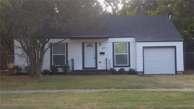 Terrell Single Family Home Active Option Contract: 917 N Virginia Street