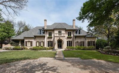 Dallas Single Family Home For Sale: 6447 Meadow Road