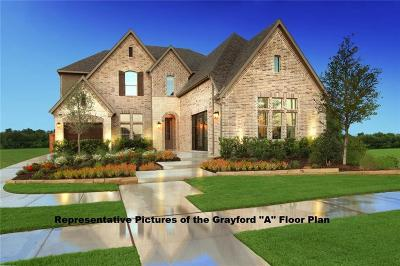 Prosper Single Family Home For Sale: 600 Gentry Drive