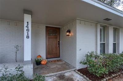 Farmers Branch Single Family Home For Sale: 14618 Tanglewood Drive