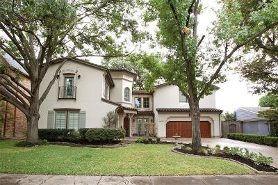 Dallas TX Single Family Home For Sale: $1,489,000