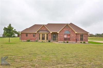 Abilene Single Family Home For Sale: 417 Apple Blossom Drive