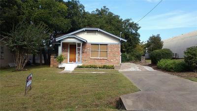 Alvarado Single Family Home For Sale: 904 S Rusk Avenue