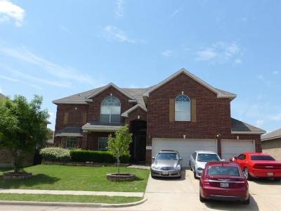 Glenn Heights Single Family Home For Sale: 1120 Bradford Drive