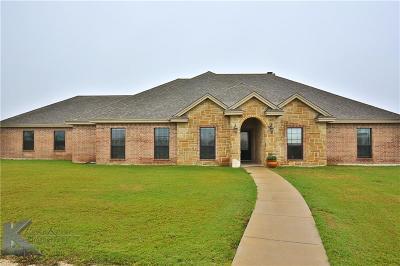 Abilene Single Family Home For Sale: 289 Carter Lane