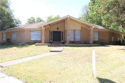 Kaufman Single Family Home For Sale: 900 Crestview Drive