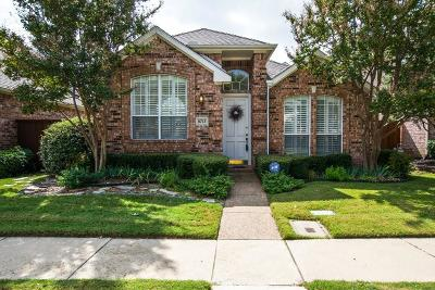 Irving Single Family Home Active Option Contract: 8713 Stonecrest Drive