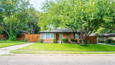 Dallas Single Family Home Active Option Contract: 836 Lake Terrace Drive