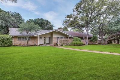 Dallas Single Family Home For Sale: 5124 Royal Crest Drive