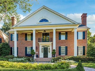 University Park Single Family Home For Sale: 3525 University Boulevard