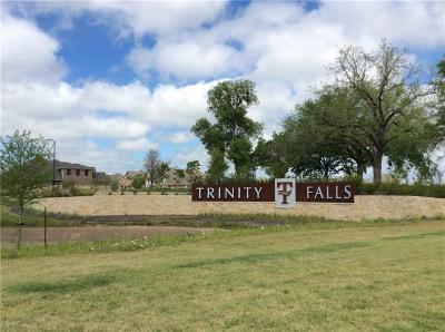Mckinney Farm & Ranch For Sale: 7494 Trinity Falls Parkway