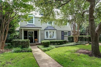 Fort Worth Single Family Home For Sale: 6225 Locke Avenue