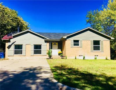Allen Single Family Home For Sale: 407 Allenwood Drive