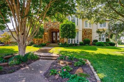 Southlake Single Family Home Active Option Contract: 1101 Versailles Court