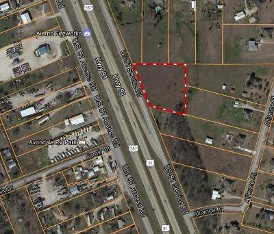 Tarrant County Residential Lots & Land For Sale: 13844 287 & 81 Highway