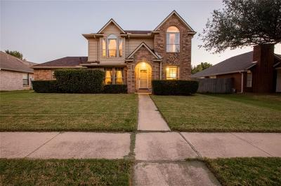 Flower Mound Single Family Home Active Option Contract: 629 Teakwood Drive