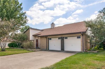 Euless Single Family Home For Sale: 206 Country Lane