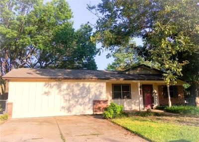 Crowley Single Family Home For Sale: 604 Wallace Drive