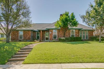 Plano Single Family Home Active Option Contract: 2300 Coleshire Drive