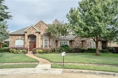 Plano Single Family Home Active Option Contract: 2713 Pawnee Circle