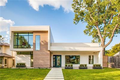 Dallas Single Family Home For Sale: 3815 Valley Ridge Road