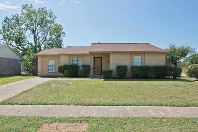 The Colony Single Family Home For Sale: 5700 Pearce Street