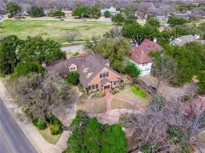 Fort Worth Single Family Home For Sale: 6321 Rosemont Avenue