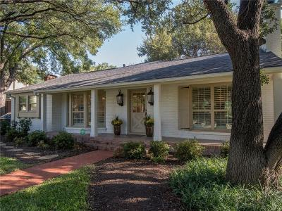 Fort Worth Single Family Home For Sale: 5625 Collinwood Avenue