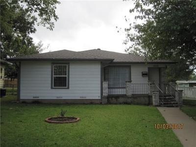 Single Family Home Active Option Contract: 2000 E Jones Street