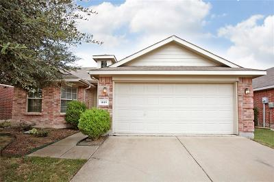 Forney Single Family Home Active Option Contract: 1019 Comfort Drive
