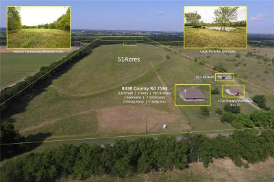 Royse City, Union Valley Farm & Ranch For Sale: 8338 County Road 2584