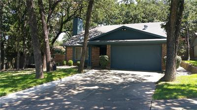 Euless Single Family Home Active Option Contract: 405 Shelmar Drive