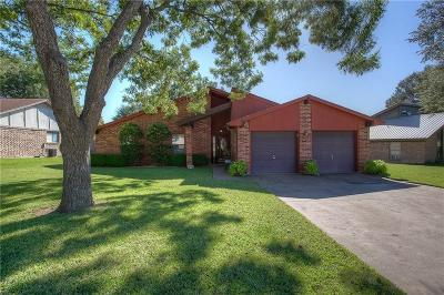 Benbrook Single Family Home Active Option Contract: 145 Amory Drive
